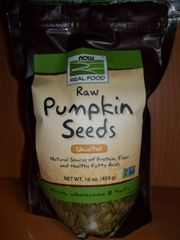 Now Real Food Raw Pumpkin Seeds unsalted 16oz