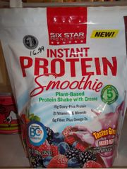 Six Star Pro Nutrition® Instant Protein Smoothie Mixed Berry -- 0.78 lbs