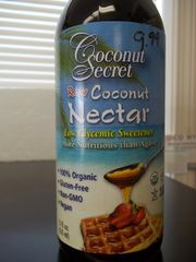 Coconut Secret Raw Coconut nectar 100% organic