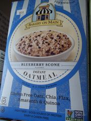 Bakery On Main Instant Oatmeal Gluten Free Blueberry Scone -- 6 Packets
