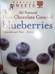 Harvest Sweet Dark Chocolate covered blueberries 3.5 oz