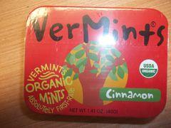 Vermints Cinnamon organic mints 1.41 oz