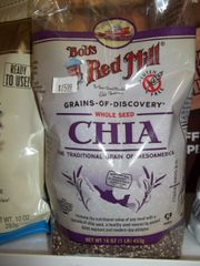 Bobs Red Mill Chia Seed 16oz Gluten Free
