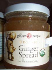 Ginger spread organic 8.5oz