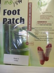 Foot patch detox pads