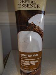 Desert Essence Body Wash Coconut -- 8 fl oz