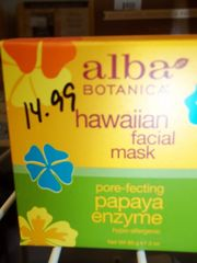 Alba Botanica® Hawaiian Facial Mask Papaya Enzyme -- 3 oz