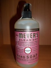Meyers clean day hand soap Rosemary w/olive oil & aloe vera 12.5 fl oz