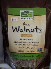 NOW Foods Real Food™ Raw Walnuts Unsalted -- 12 oz