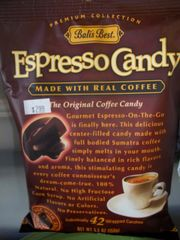 Balis Best Espresso candy made with real coffee 5.3 oz