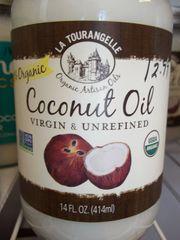 La Tourangelle Coconut Oil virgin & unrefined 14 fl oz