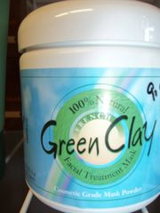 Rainbow Research Green Clay Facial Treatment Mask -- 8 oz