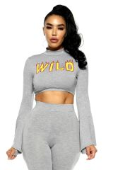 Wild Thoughts Crop Top