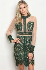 Hunter Heather Lace Dress