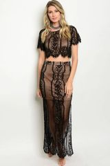Gypsy Lace Maxi Set