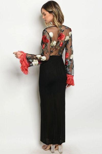 Rachel Rose Maxi Dress