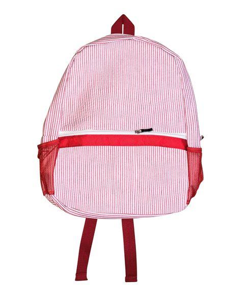 seersucker backpack