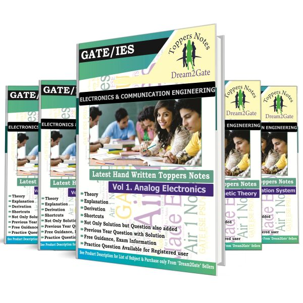 000  GATE PSUs Electronics Handwritten Notes Hyderabad Toppers (ACE)