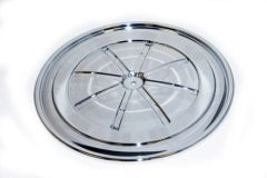 Chrome Air Cleaner Lid 1969/1970 Mustang Boss 302 & 428 Cobra Jet Non Ram-Air