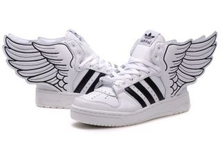low priced 1c7a4 46e3c Adidas Originals By Jeremy Scott JS Wings 2.0 White Black (Women)