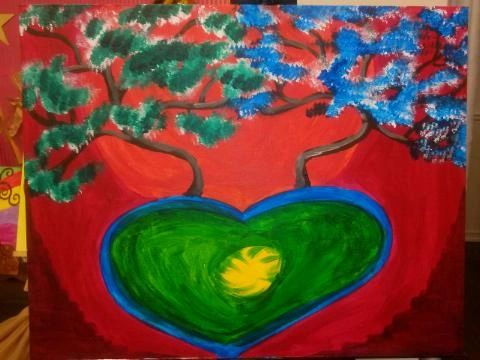 trees on my heart painting classes