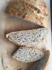 Homemade Rosemary and Garlic Bread Loaf - Serves 4-6