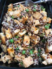 Tofu w. Quinoa and Peas
