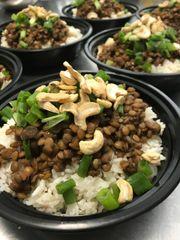 Korean Lentils w. Rice