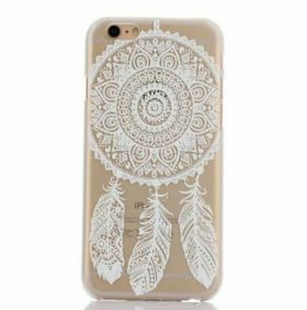 check out a7c4b 23477 White Henna Dream Catcher iPhone Case