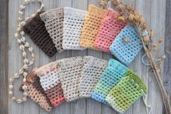 Hand-Crocheted Soap Sacks