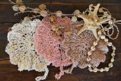 Crocheted Cotton Bath Scrubbies