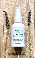 CLEAN FACE Gentle Oil Cleanse, 2oz / 60ml