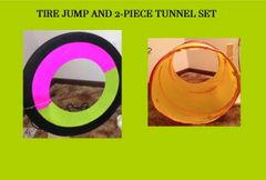 TIRE JUMP AND 2-PIECE TUNNEL SET