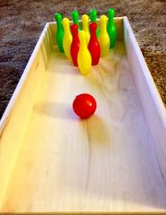 Guinea Pig Deluxe Bowling Set
