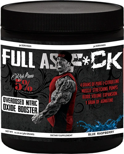 Full As F*ck Rich Piana 5% Nutrition 30 Servings