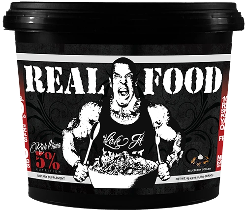Real Food By Rich Piana 5% Nutrition 60 Servings Blueberry Cobbler