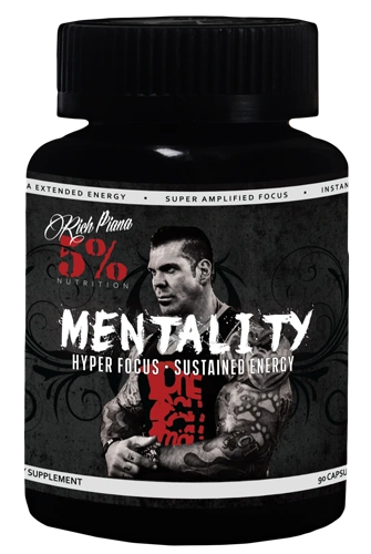 Mentality by 5% Nutrition 90 Capsules