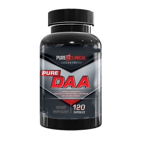 Pure Clinical DAA 120 Capsules