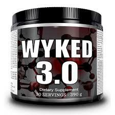 Wyked 3.0 Pre-Workout 30 Servings