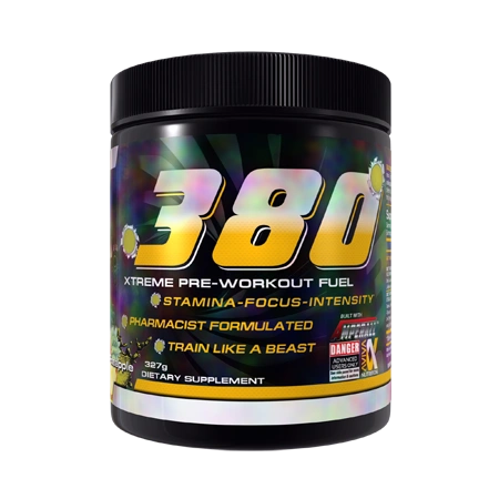 380 Extreme Pre-Workout Fuel by Aviva Nutrition