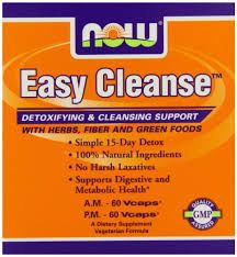 Easy Cleanse by Now Foods 120 Vcaps Dual Cleanse