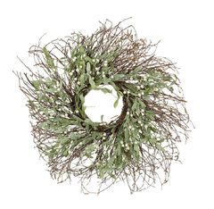 Large Twig wreath with white berries SOLD OUT