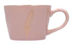 Artisan Feather Mug