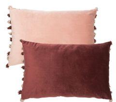 Blush Aubergine Cushion