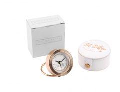 Rose Gold Jet Setter mini Clock