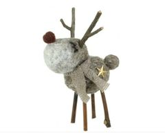 Twiggy Wool Reindeer SOLD OUT