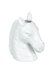 Zebra Head Vase