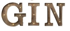 Industrial LED Gin Sign HALF PRICE!