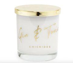 Gin & Tonic Glass Candle
