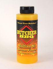 Butcher BBQ Grilling Oil Butter Flavor 120Z
